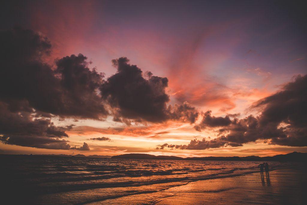 Atardecer en la Península de Krabi, Tailandia