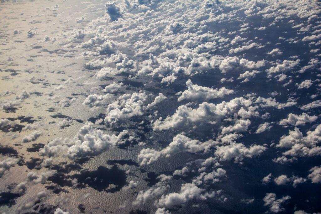 Cielo y Nubes desde Avión-Cuba-2014