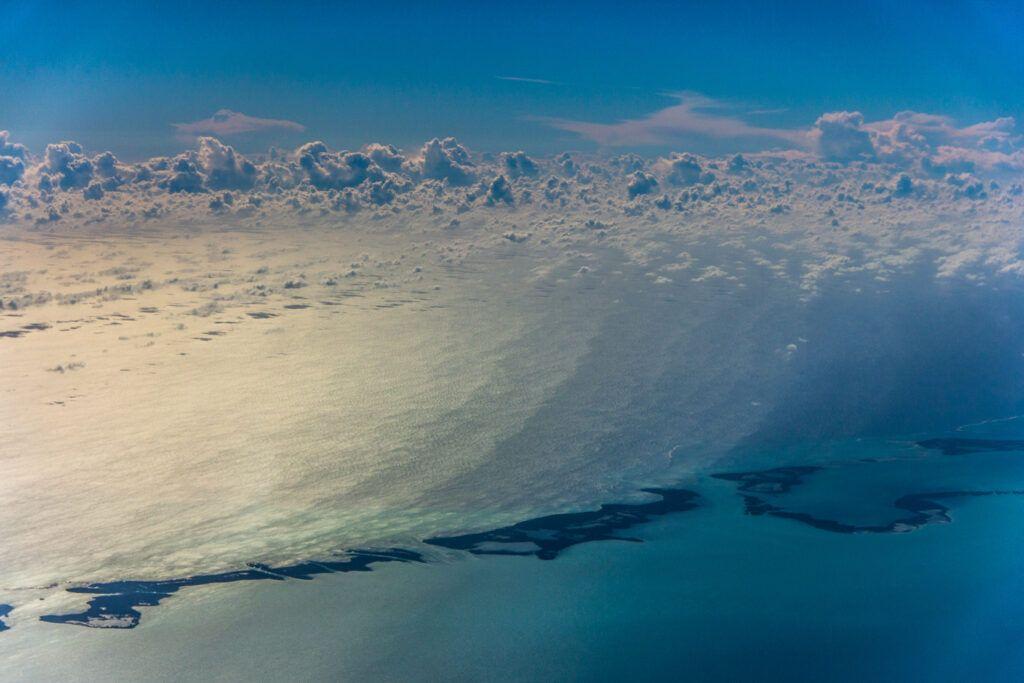 Marcos Sanzano Fotografías-Cielo y Nubes desde Avión-Cuba-2014