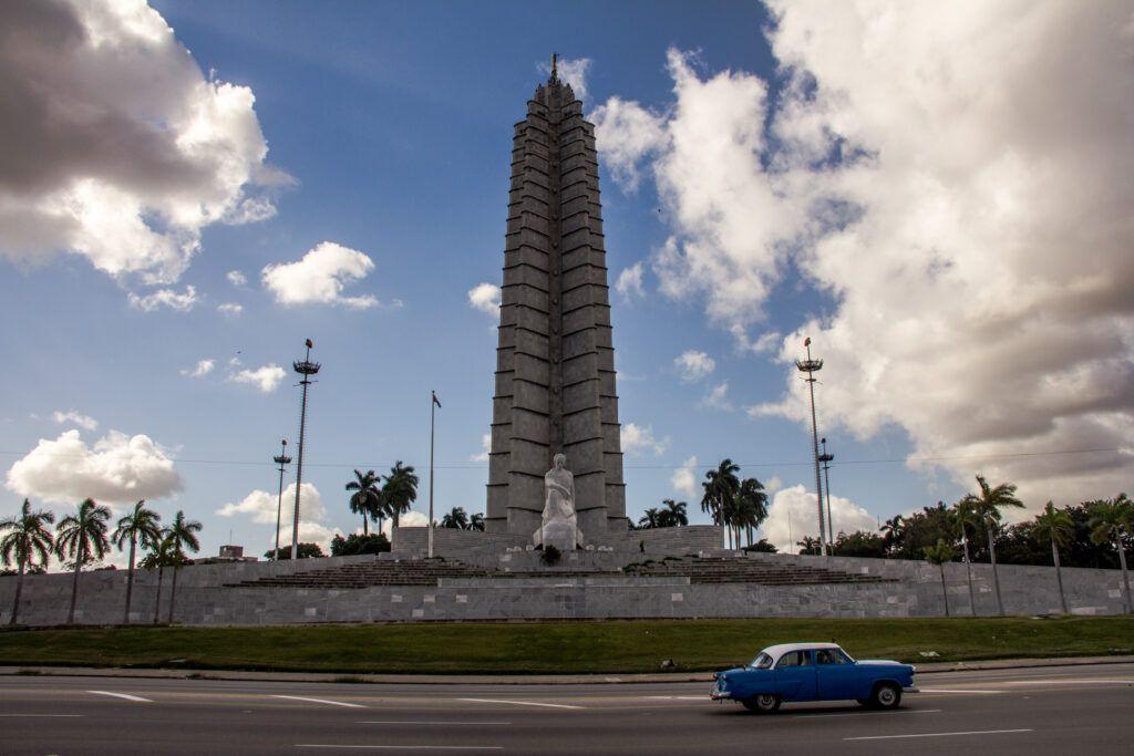 Monumento Martí-La Havana, Cuba-2014